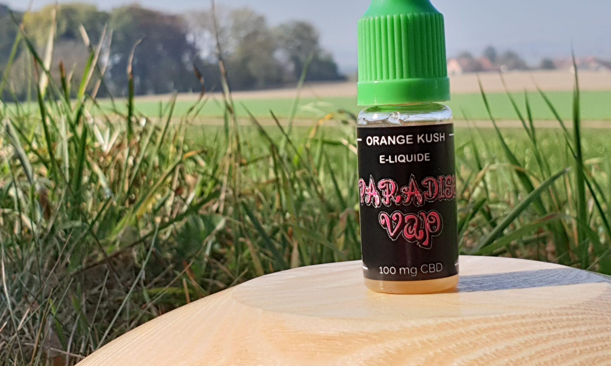 E-liquide Orange Kush 100 [mg]